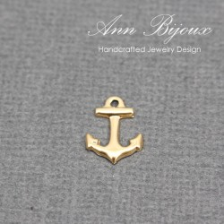 Gold Filled Anchor charm