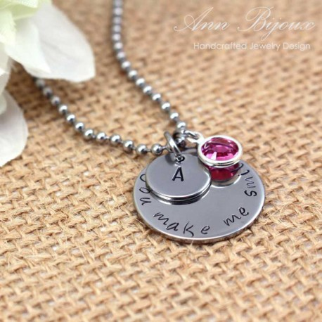 Personalized Stainless Steel Inspiratinal Necklace