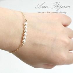 Minimalist Style Freshwater Pearl Bracelet